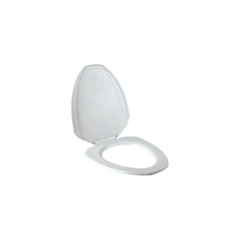 Parryware Cascade Seat Cover, C8012, Colour: White