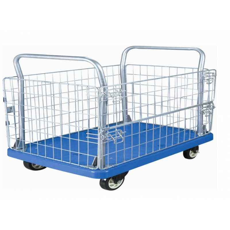 Bigapple 300kg Capacity Material Handling Cage Trolley, WH-4