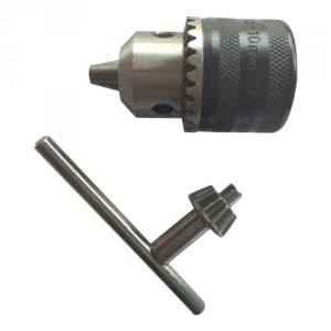 Yuri 10mm Key Type Drill Chuck with Thread, YDC10