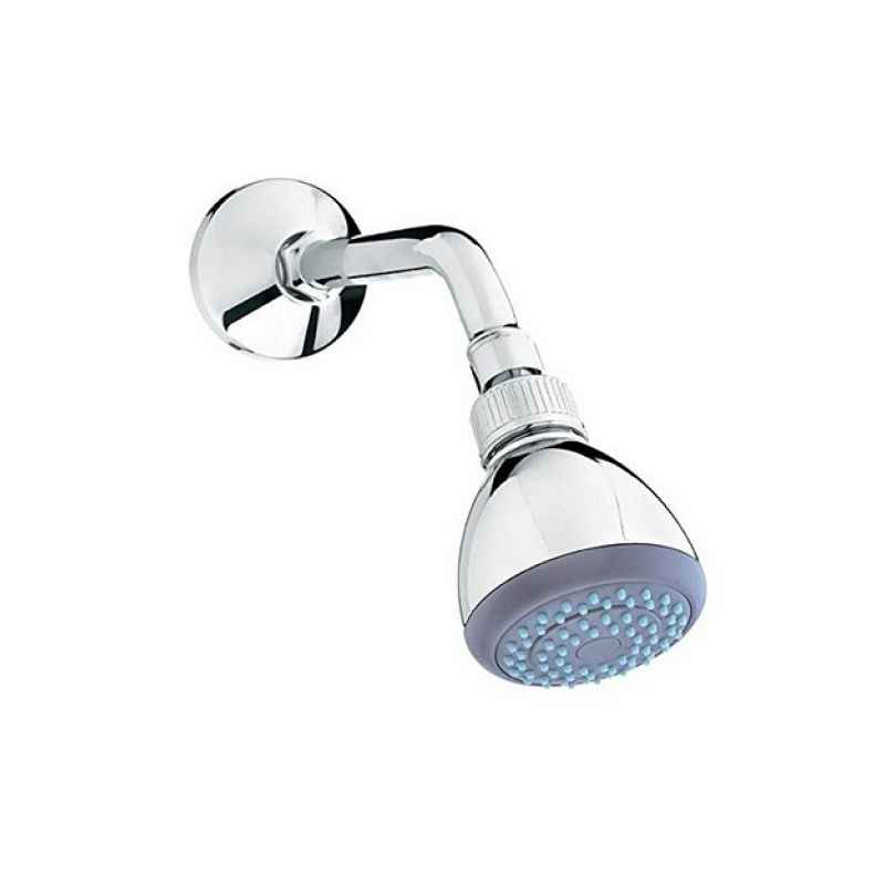 Parryware T9927A1 Single Flow Over Head Shower (With Arm & Wall Flange)