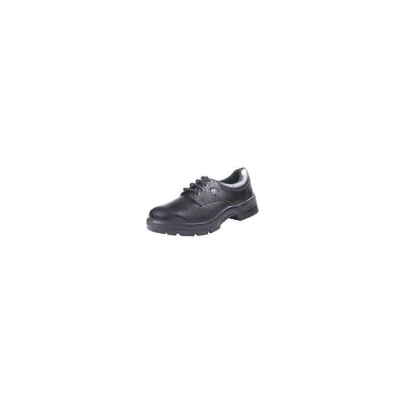 Bata Industrials RBS3-SA-5035 Endura L/C Steel Toe Black Safety Shoes, Size: 6