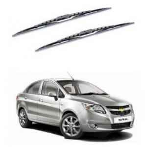 Hella WB-BK-009 Premium Black Wiper Blade Set For Chevrolet Sail