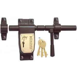 Godrej 6 Lever Kadi Tala with 3 Keys, 5092