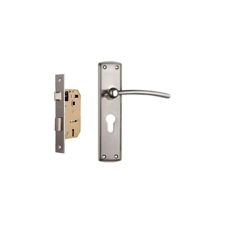 Plaza Soga Stainless Steel Handle with 65mm Mortice Lock & 3 Keys