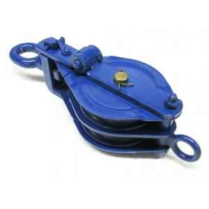 Kepro 6 Ton Double Sheave Wire Rope Pulley Block, KWRP212060