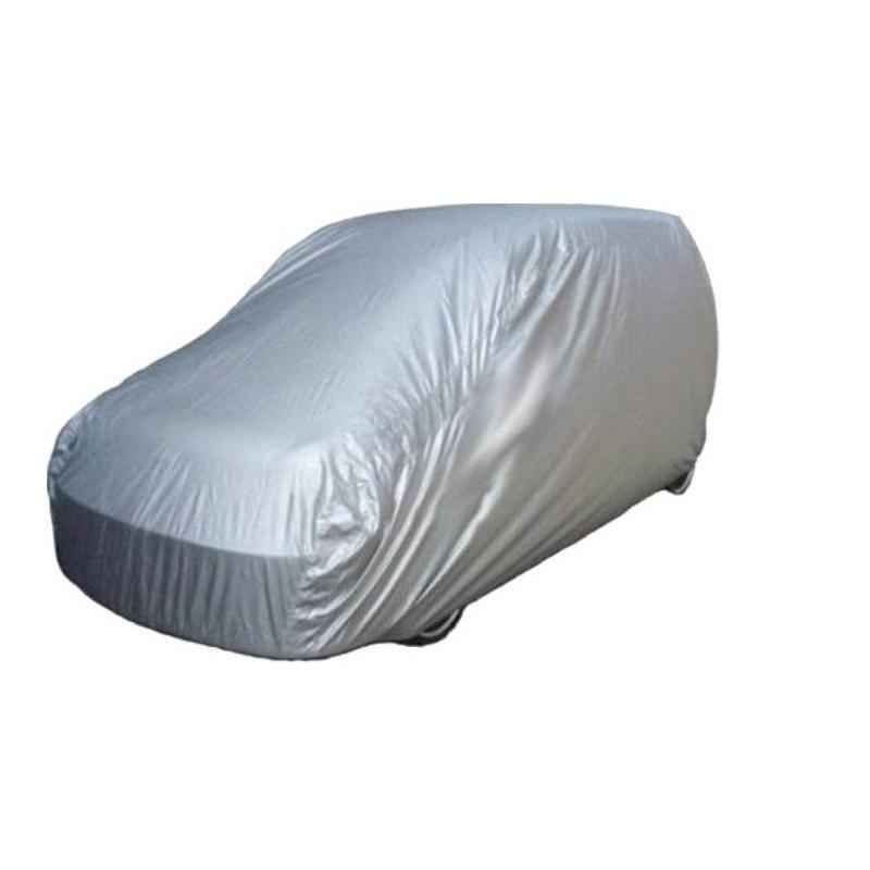 Uncle Paddy Silver Car Cover for Maruti Suzuki Zen Estilo