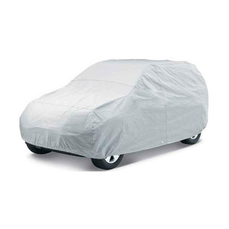Uncle Paddy Silver Car Cover for Maruti Suzuki Alto K-10