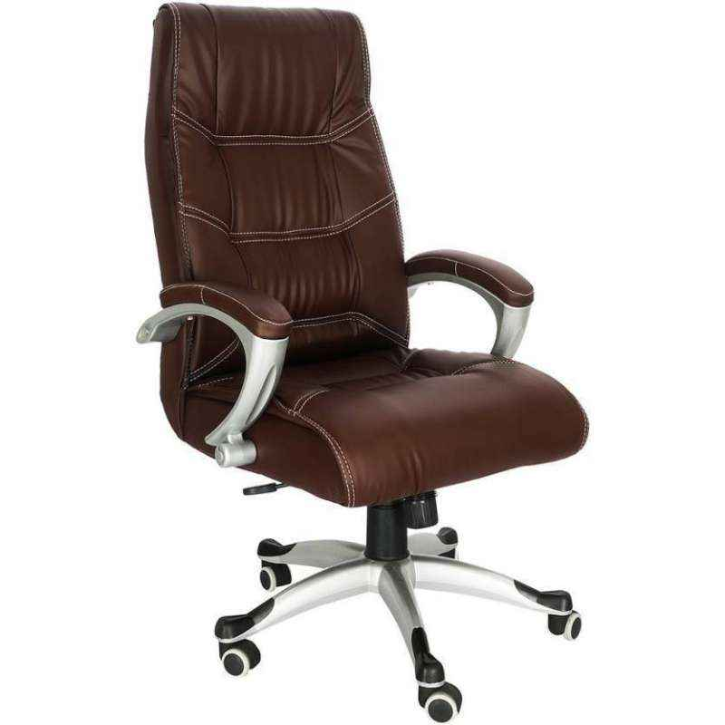 Mezonite High Back Leatherette Brown Office Executive Chair