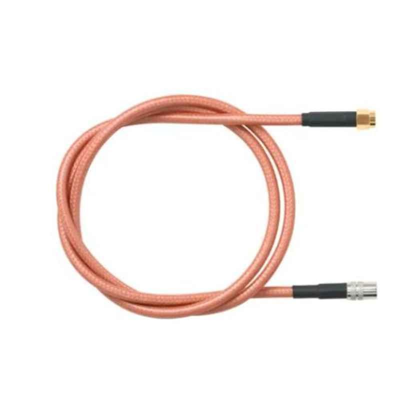 Pomona 73069-BB-60 60 inch Brass 4 Ghz RG316/U SMA Plug to SMA Right Angle Plug, 3388437