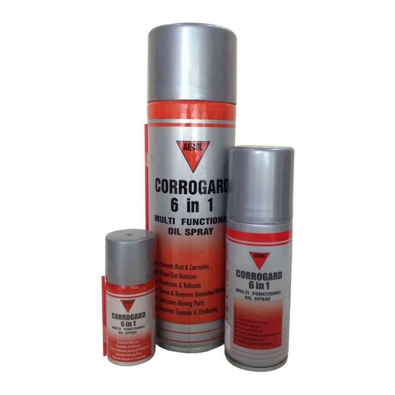 Aerol 32g 4141 Grade Corrogard 6 In 1 Multi-function Oil Spray (Pack of 24)