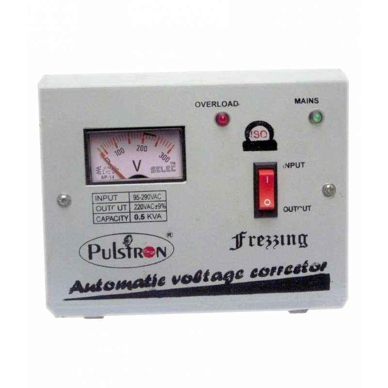 Pulstron 0.5KVA Refrigerator Voltage Stabilizer