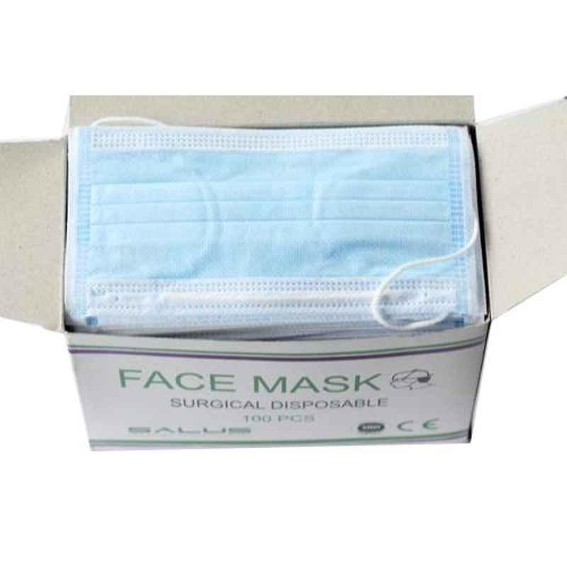 Khushi 3 Ply Face Mask with Meltblown Filter (Pack of 100)
