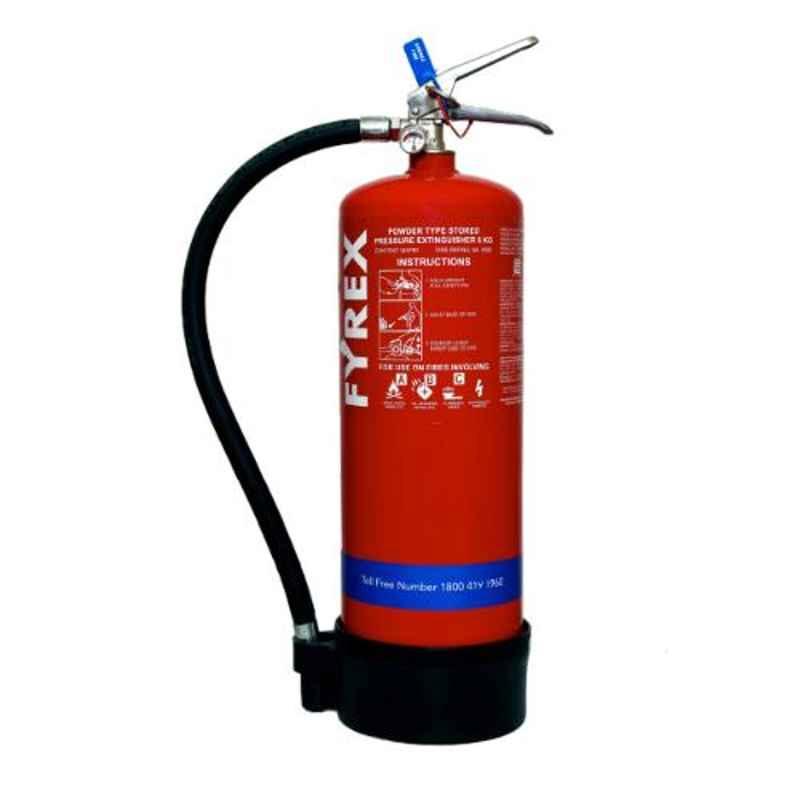 Fyrex Stored Pressure MAP 90 6kg ABC Fire Extinguisher, F0007