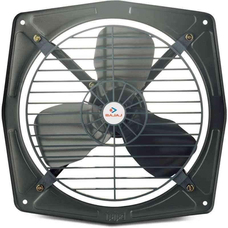 Bajaj Bahar Metallic Grey Fresh Air Exhaust Fan, Sweep: 225 mm