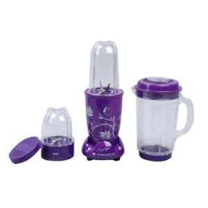 Wonderchef Nutri-Blend 400W Purple Mixer Grinder with 3 Jars, 63152295