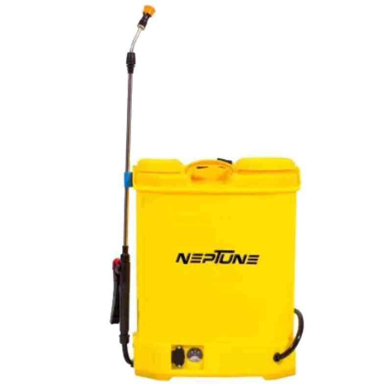 Neptune 16L 12V Knapsack Battery Operated Yellow Garden Sprayer, BS-12