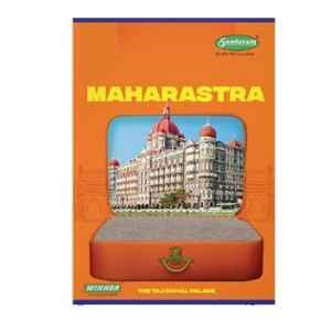 Sundaram Winner A4 172 Pages Multicolour Single Line Book, C-11 (Pack of 6)