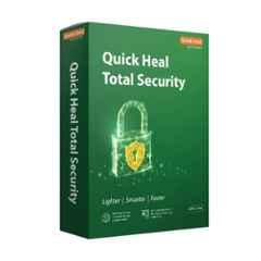 Quick Heal Total Security Latest Version 5 Users 1 Year with CD/DVD