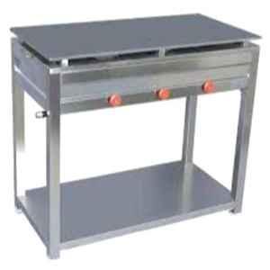 Shree Chamunda 40x32x20 inch Stainless Steel Dhosa Bhathi