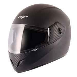 Vega Cliff ABS Black Full Face Helmet, Size: M