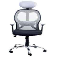 Regent Matrix Net & Metal High Back Black & Grey Mesh Chair