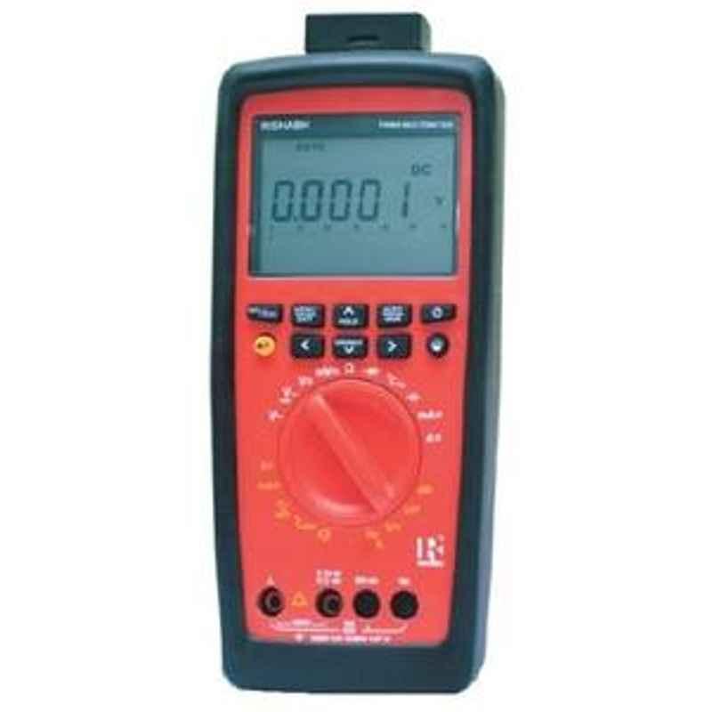 Rishabh Rish-6012 Digital Multimeter AC Volt Range 6V to 1000V
