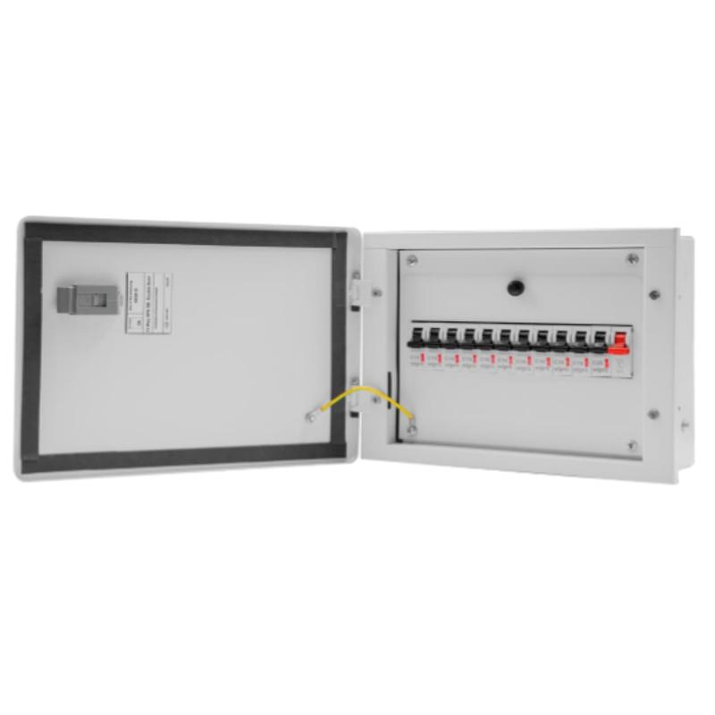 Wipro North West Avancee 6 Ways SPN Single Door Distribution Board, NW-AV06WSPNSD