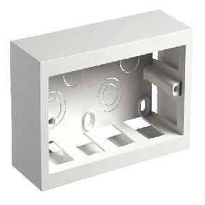 Legrand Myrius 4 Module Plastic Surface Mount Box - 6733 04