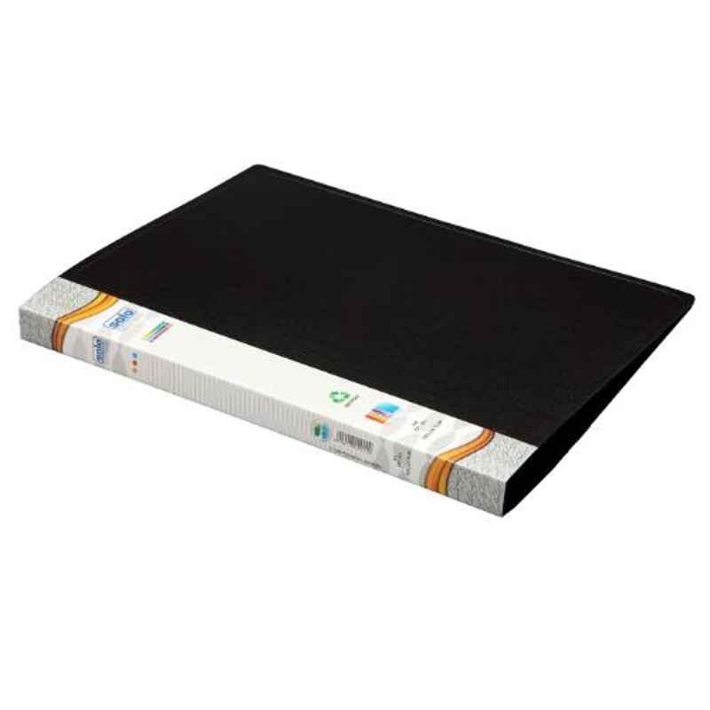 Solo A4 Black Deluxe Clip File, DC101 (Pack of 10)