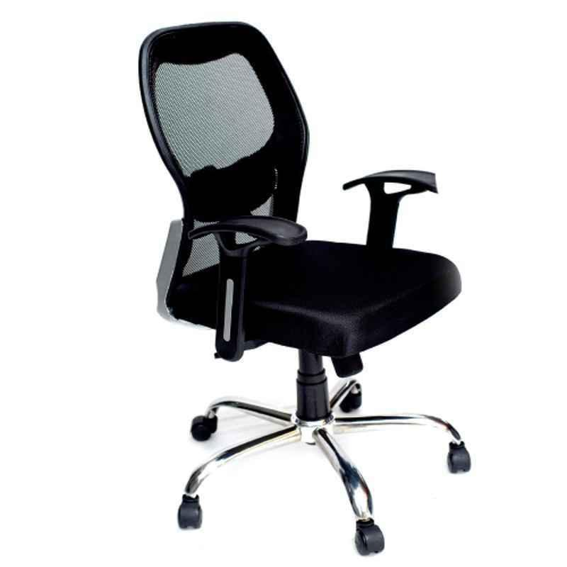 Caddy PU Adjustable Study Chair with Back Support, MI4