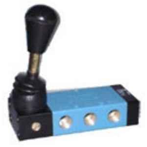 Techno 3/8 inch 5/2 Hand Lever Valve, 4H-310-10