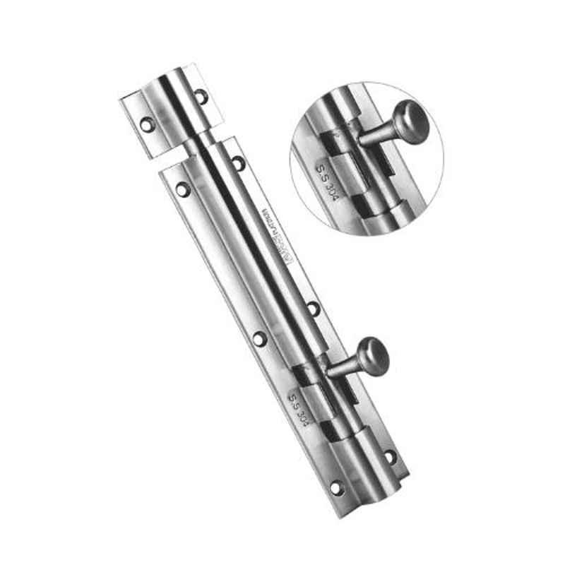 AKS Eva 8 inch Stainless Steel Tower Bolt, TB1003