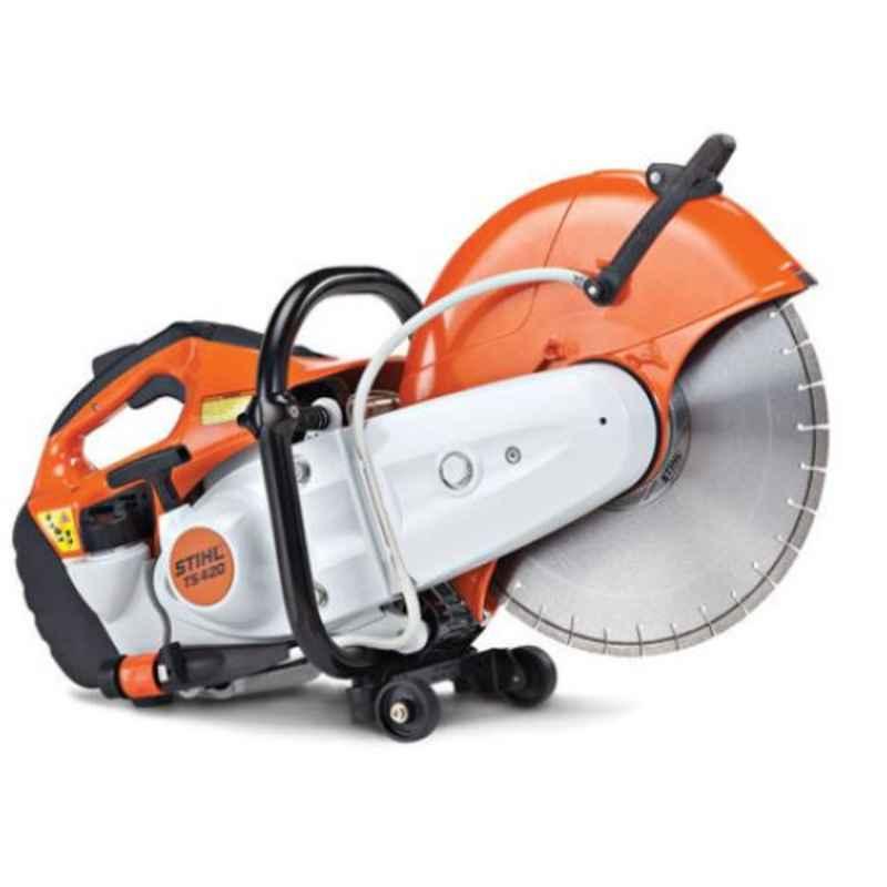 Stihl TS 420 3.2kW Gasoline Cut off saw with 14 inch Wheel, 42380112810