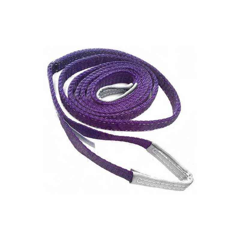Ferreterro 1 Ton 1m Violet Double Ply Flat Polyester Webbing Sling