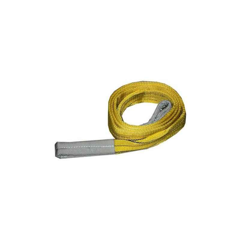 Ferreterro 3 Ton 3m Yellow Double Ply Flat Polyester Webbing Sling