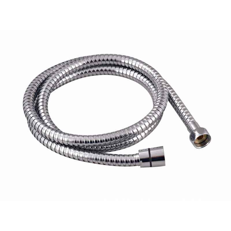 Kingsburry 1.5M Fexible Shower Tube SS With Brass Nut, BFS-150