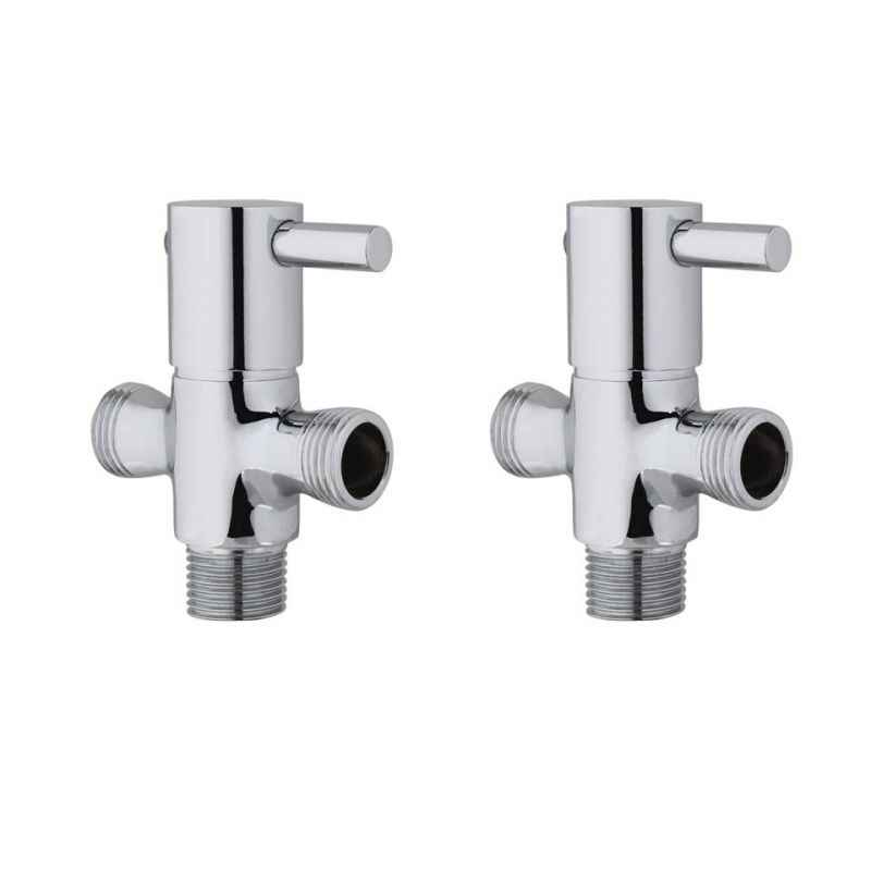 Kamal ANG-1530-S2 Two in One Angle Cock (Pack of 2)