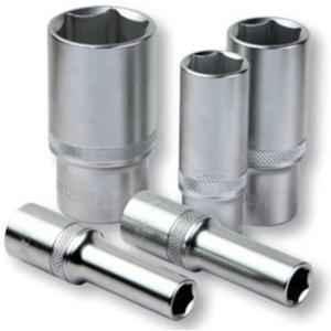 Groz 27mm 1/2 Inch Deep Drive Hex Socket, SKT/H/1-2/27D/UG