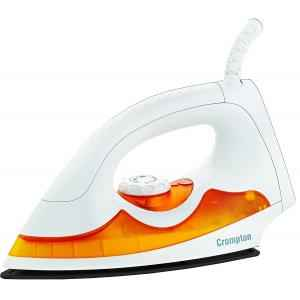 Crompton Greaves 1000W PD Plus White & Orange Automatic Dry Iron