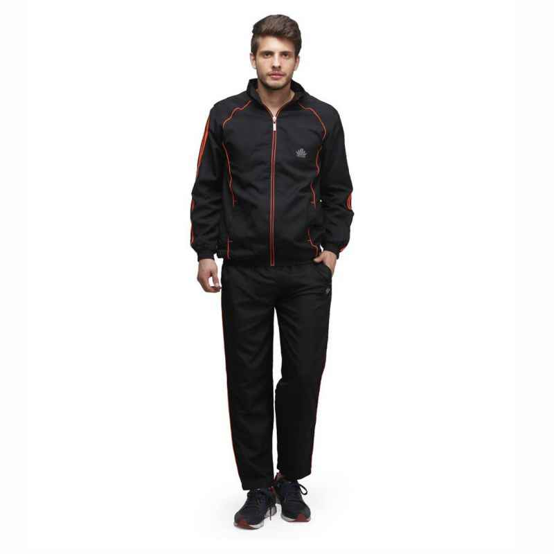 Abloom 134 Black & Orange Tracksuit, Size: XXL