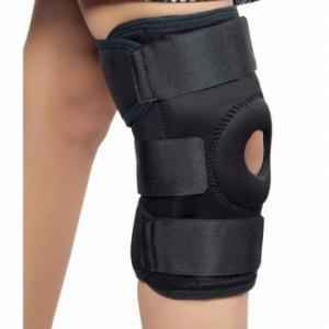 Shakuntla Black Strong Knee Support Brace, Size: L