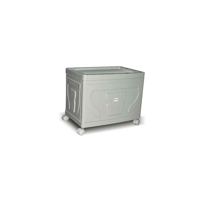 Microtek Silver Trolley For Single Flat Plate Battery