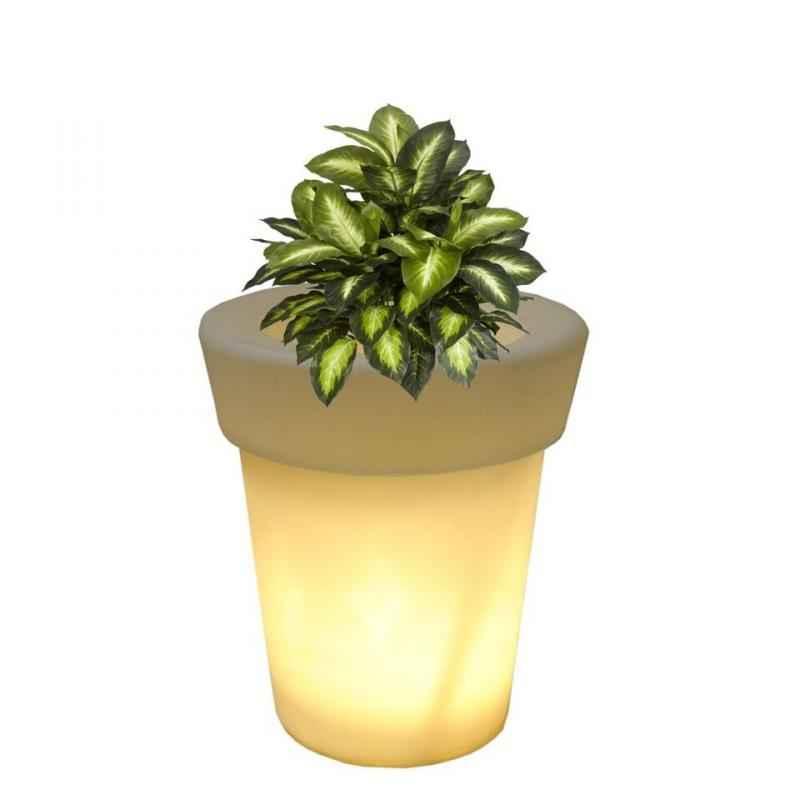 Yuccabe Italia LED ELN 26 Inch Planter