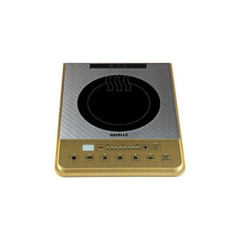 Havells 1600W Insta Cook PT Gold Induction Cooker, GHCICBLK160