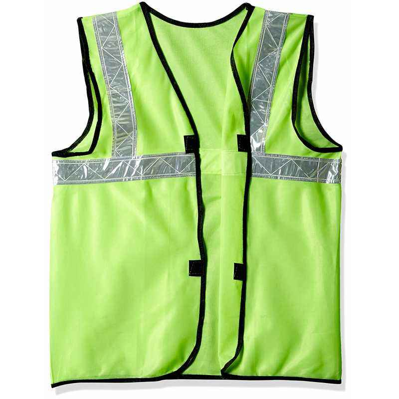 Safari Pro 2 Inch Green Fabric Type Reflective Safety Jacket