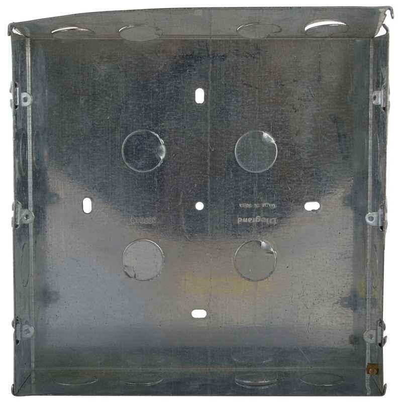 Legrand Mylinc Metal Flush Box - 12 Module, 6890 12, (Pack of 2)