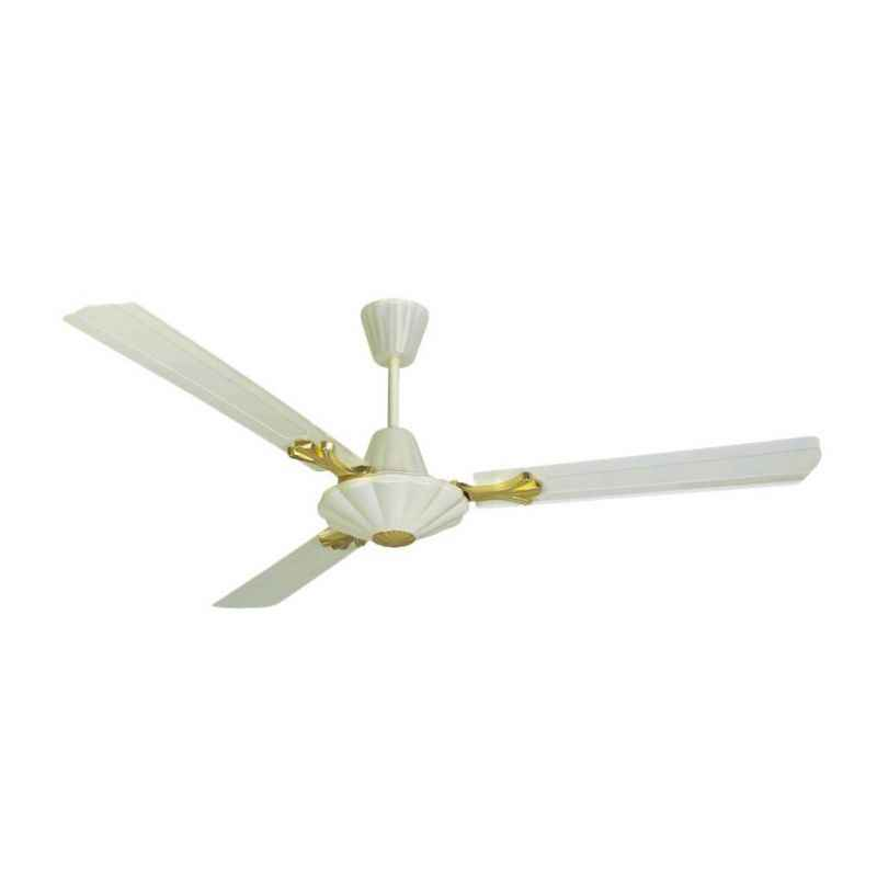 Black Cat 350rpm Royal Ivory Ceiling Fans, Sweep: 1200 mm (Pack of 6)