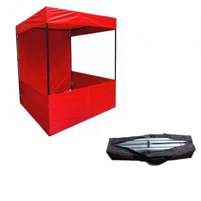 PSJ Red Promotional Canopy with Free Carrying Bag, 214x122x122 cm