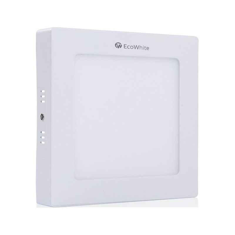 EcoWhite 6W Cool White Square Surface Panel Light, EWSD6R