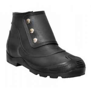 Hillson No Risk Steel Toe Black Gumboot, Size: 7